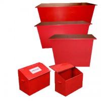 Пожежний ящик для піску об'ємом 0.15 м3