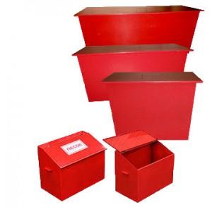 Пожарные ящики для хранения песка (4)