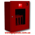 Шафа пожежна ШПК-310 ВОК. вбудована відкрита червона