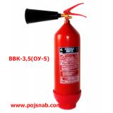 Огнетушитель углекислотный ОУ5(ВВК3,5)